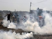 إصابات بالاختناق جراء قمع الاحتلال مسيرة سلمية شرق رام الله