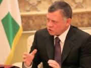 العاهل الأردني: السبيل الوحيد لإنهاء الصراع مبني على حل الدولتين وفق القانون الدولي