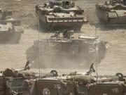 مناورة إسرائيلية في عسقلان تحاكي هجمة عسكرية على قطاع غزة