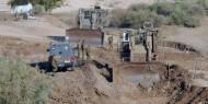 الاحتلال يجرف 5 دونمات ويقتلع 20 شجرة زيتون في رام الله