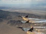 طيران التحالف يشن غارات على مواقع للحوثيين شمال صعدة