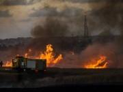 إعلام عبري: انفجار ضخم في مجمع أشكول بغلاف غزة