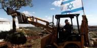 نابلس: الاحتلال يجرف أراضي المواطنين بالقرب من حاجز زعترة