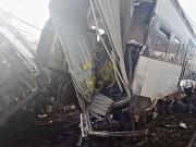 بنجلاديش: مصرع 5 أشخاص وإصابة 100 آخرين بخروج قطار عن مساره