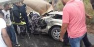 مصرع مواطن وإصابة أخرين بينهم 3 حرجة في حادث سير شرق نابلس