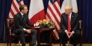 """ترامب ينتقد تصريحات ماكرون بشأن حلف"""" الناتو"""""""