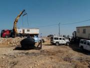 مستوطنون ينصبون كرفانًا على أراضي مسافر يطا