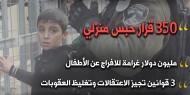 الأطفال المعتقلين بسجون الاحتلال