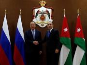 الأردن وروسيا يؤكدان استمرار جهودهما لحل القضية الفلسطينية