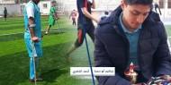 رصاص الاحتلال يحرم اللاعبان الخضري وأبو سمرة من إكمال مسيرتهما الكروية