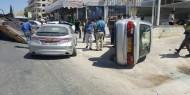 مصرع وإصابة 5 أشخاص في تصادم سيارتين فلسطينية وإسرائيلية قرب رام الله