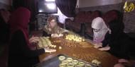 الكعك زينة موائد الغزيين في العيد