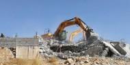 بالصور||الاحتلال يهدم ثلاثة منازل في الضفة والقدس المحتلة