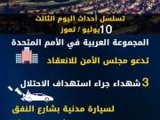 عدوان غزة 2014.. تسلسل أحداث اليوم الثالث