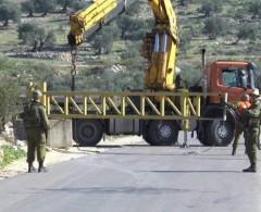 الاحتلال يغلق حاجز بيت اكسا العسكري ويمنع المواطنين من المرور