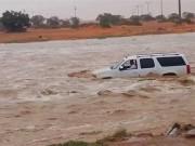 السيول تغرق العين الإماراتية (فيديو)
