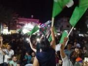 بالصور|| جماهير غزة تتابع نهائي كأس أمم إفريقيا لمساندة المنتخب الجزائري