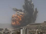 اليمن: التحالف يشن 9 غارات جوية استهدفت مخازن صواريخ للحوثيين