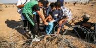 إصابات خلال قمع الاحتلال مسيرة إنهاء الحصار شرق غزة