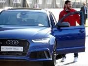 """""""أودي"""" تطالب باستعادة سياراتها من لاعبي برشلونة"""
