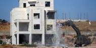 """الاتحاد الأوروبي يدعو إسرائيل إلى وقف عمليات الهدم المستمرة """"فورا"""""""