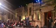 بالصور|| مهرجان جرش يمنح محمد عساف لقب «عندليب فلسطين»