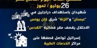 عدوان غزة 2014.. تسلسل أحداث اليوم التاسع عشر