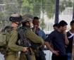 الاحتلال يحتجز  21 مواطنًا في دير نظام شمال غرب رام الله
