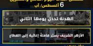 عدوان غزة 2014.. تسلسل أحداث اليوم التاسع والعشرين