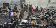 حريق هائل يشرد 10 آلاف شخص في بنغلادش