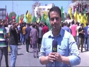ألاف المواطنين يشيعون جثمان الشهيد تامر السلطان إلى مثواه الأخير