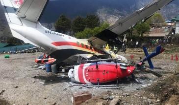 مصرع 7 أشخاص جراء تصادم طائرتين في إسبانيا