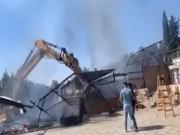 """بيت لحم: الاحتلال يهدم منزلا ومطعما في """"بيت جالا"""""""