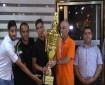 """تكريم """"اتحاد الشجاعية"""" بطل كأس السوبر في قطاع غزة"""