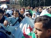 الآلاف يواصلون التظاهر في شوارع الجزائر للأسبوع 48