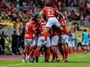 الأهلي المصري بطلاً لكأس السوبر بعد الفوز على الزمالك بثلاثة أهداف مقابل هدفين