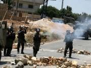 إختناقات بالعيزرية خلال مواجهات مع الاحتلال