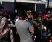 """لاجئون يتظاهرون في اليونان ضد ظروف المعيشة تحت شعار مخيم """"موريا جحيم"""""""