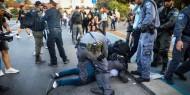 الاحتلال يقمع مسيرة رافضة للاستيطان في قرية ترمسعيا