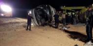 بالصور|| فاجعة.. مصرع 35 مُعتمّرًا في حادث مروري بالسعودية