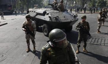 نشر 9 آلاف جندي بالشوارع.. تشيلي تتحول إلى ثكنة عسكرية لمواجهة احتجاجات ضد الغلاء