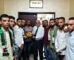 صور|| الشبيبة الفتحاوية تُكرّم رئيس جامعة الأزهر في غزة وعمداء كلياتها