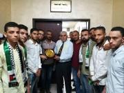 صور|| الشبيبة الفتحاوية تُكرم رئيس جامعة الأزهر في غزة وعمداء كلياتها