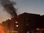 حريق في مصنع بمستوطنة سديروت جراء صواريخ المقاومة