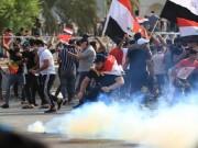 العراق: محتجون يطوقون مبنى وزارة النفط ويمنعون خروج الموظفين