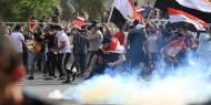 العراق.. إصابة 6 متظاهرين إثر هجوم على خيام الاعتصام وسط بغداد