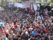 خاص بالصور|| تشييع جنازة الشهيد خالد فراج من مخيم النصيرات