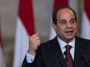 السيسي يطالب العالم برد حاسم على الدول الداعمة للإرهاب