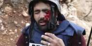 بالصور   إعلاميون وفنانون عرب يتضامنون مع الصحفي الفلسطيني معاذ عمارنة