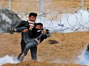 37 إصابة برصاص الاحتلال خلال الجمعة الـ83 لمسيرة العودة